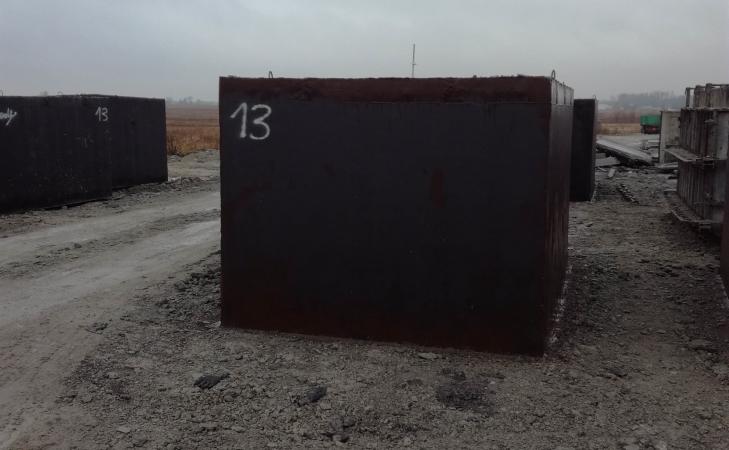 Piwnica z szamba betonowego