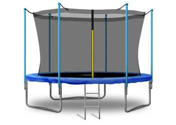 Trampolina ogrodowa 312 cm 10 ft z siatką DOLLO SPORT + drabinka